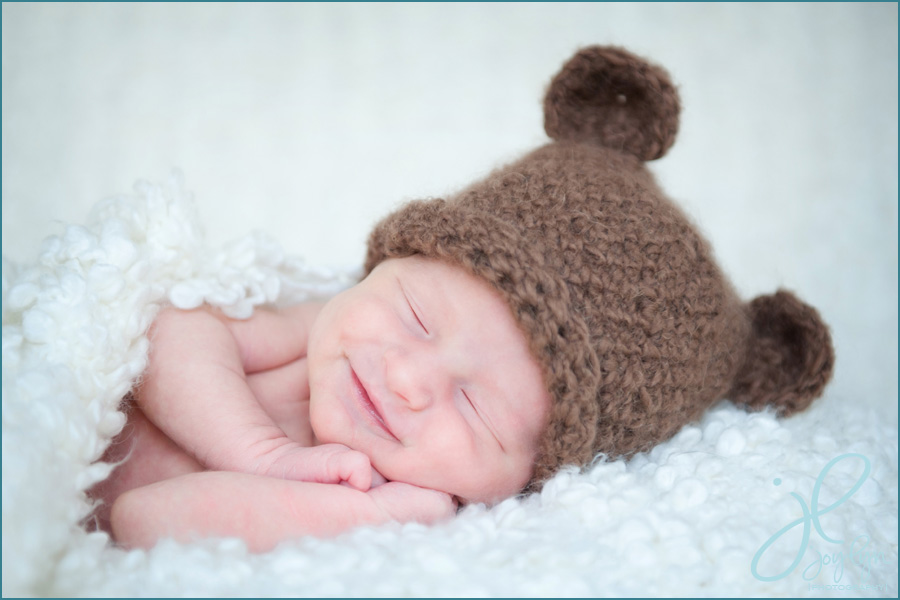 newborn bear hat