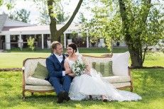 Barn wedding, Emerson Creek Pottery and Tearoom