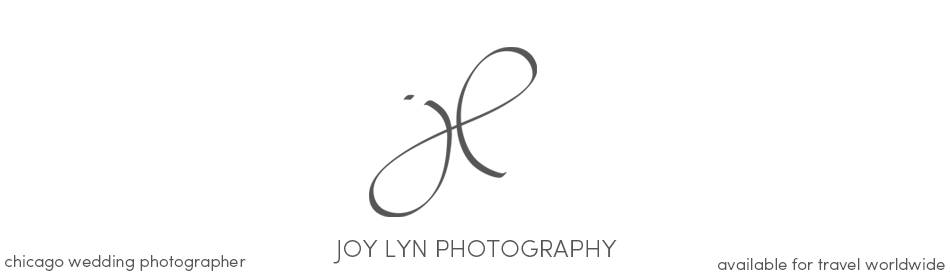 Joy Lyn Chicago Wedding Photography logo